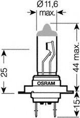 Автолампа галогенова 55W Osram 64210CBI