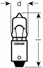 Автолампа 10W Osram 64113