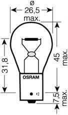 Автолампа 21W Osram 7507DC02B