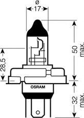 Автолампа галогенова 45/40W Osram 64183