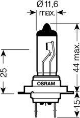 Автолампа галогенова 55W Osram 64210SV2