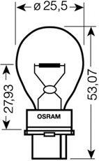 Лампа накаливания, фонарь указателя поворота OSRAM арт. 3156