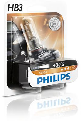Лампа накаливания, фара дальнего света PHILIPS арт. 9005PRB1