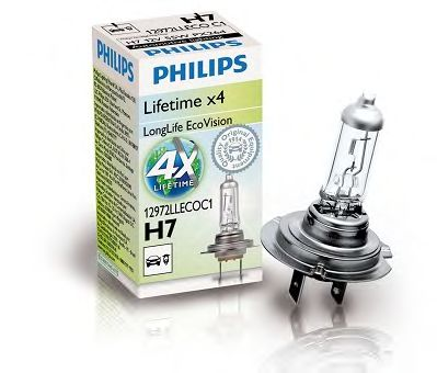 Лампа накаливания, фара дальнего света PHILIPS арт. 12972LLECOC1