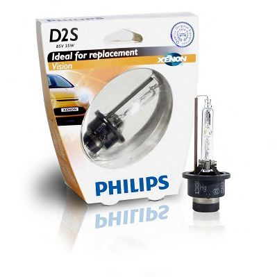 Лампа накаливания, фара дальнего света PHILIPS арт. 85122VIS1