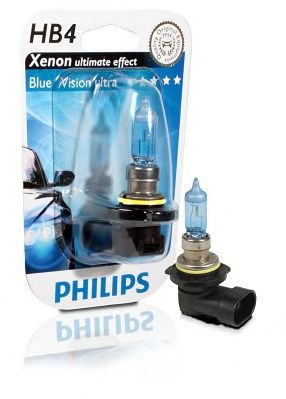 Лампа накаливания, фара дальнего света PHILIPS арт. 9006BVUB1