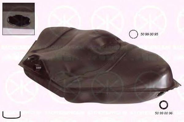 Топливный бак KLOKKERHOLM арт. 5076007