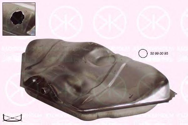 Топливный бак KLOKKERHOLM арт. 5076008