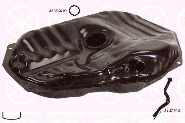 Топливный бак KLOKKERHOLM арт. 3437006