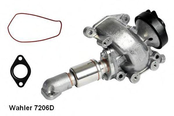 Клапан возврата ОГ WAHLER арт. 7206D