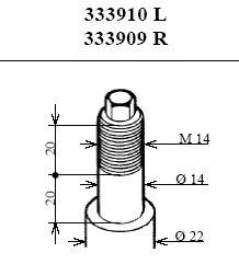 Амортизатор KYB арт. 333909