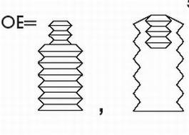 Пылезащитный комплект, амортизатор KYB арт.