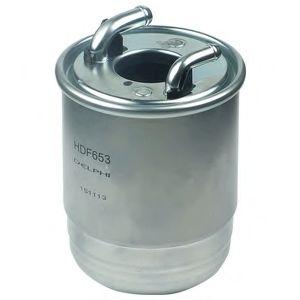 Фильтры топливные Топливный фильтр DELPHI арт. HDF653
