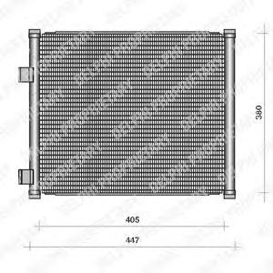 Конденсер кондиціонера DELPHI TSP0225111