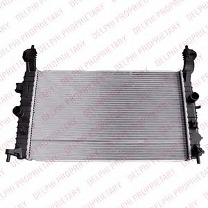 Радиатор, охлаждение двигателя DELPHI - TSP0524041