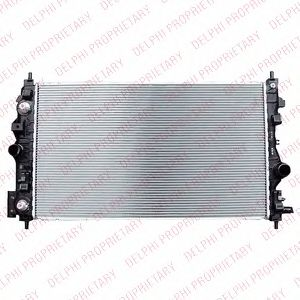 Радіатор охолоджування DELPHI TSP0524049