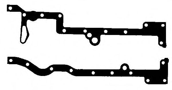 Комплект прокладок з різних матеріалів Victor Reinz 153553601