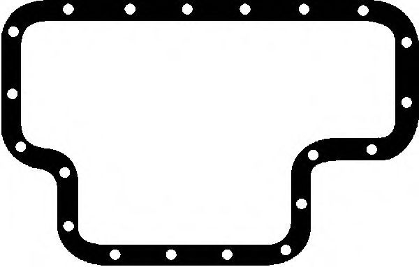 Прокладка, маслянный поддон REINZ арт. 712266810