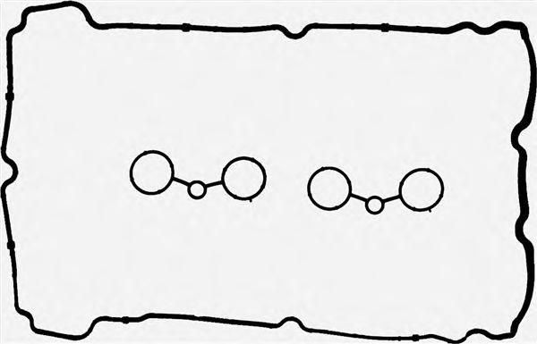 Комплект прокладок, крышка головки цилиндра REINZ арт. 153761401