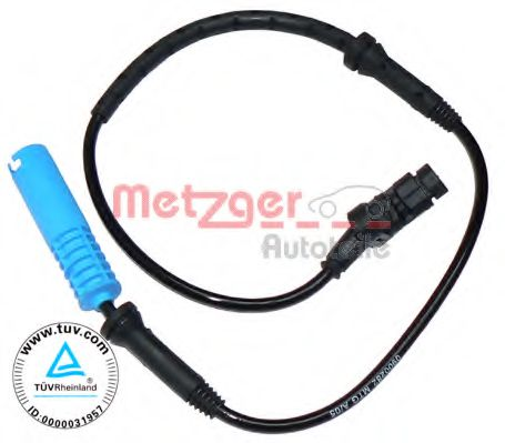 Датчик, частота вращения колеса METZGER арт. 0900282
