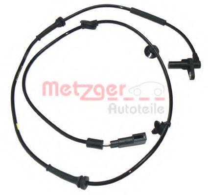 Датчик, частота вращения колеса METZGER арт. 0900305
