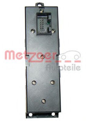 Выключатель, фиксатор двери METZGER арт. 0916007