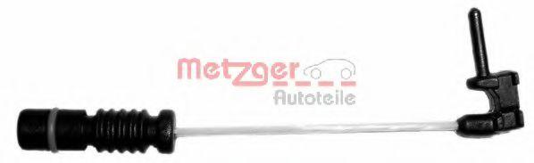 Сигнализатор, износ тормозных колодок METZGER арт. WK17025