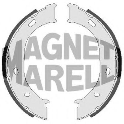 Тормозные колодки MAGNETI MARELLI арт.