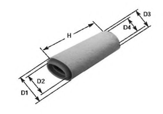 Воздушный фильтр MAGNETI MARELLI арт.