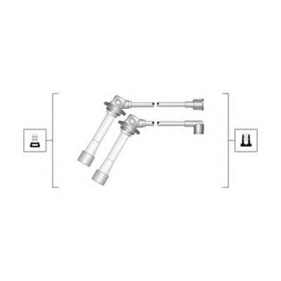 Комплект проводов зажигания MAGNETI MARELLI арт. 941319170083