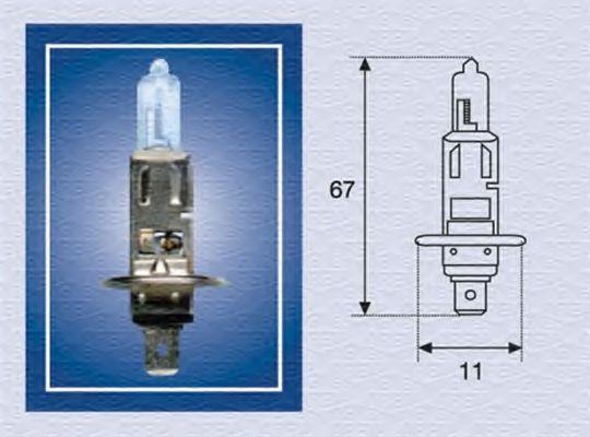 Трансмиссионные Лампа накаливания, фара дальнего света MAGNETI MARELLI арт.