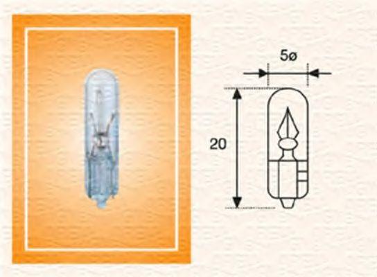 Лампа накаливания, освещение щитка приборов MAGNETI MARELLI арт.