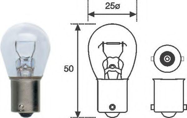 Лампа накаливания, фонарь указателя поворота MAGNETI MARELLI арт.