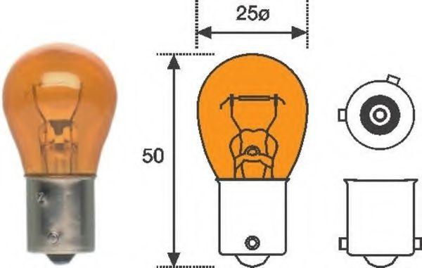 Лампа накаливания, фонарь указателя поворота MAGNETI MARELLI арт. 008507100000
